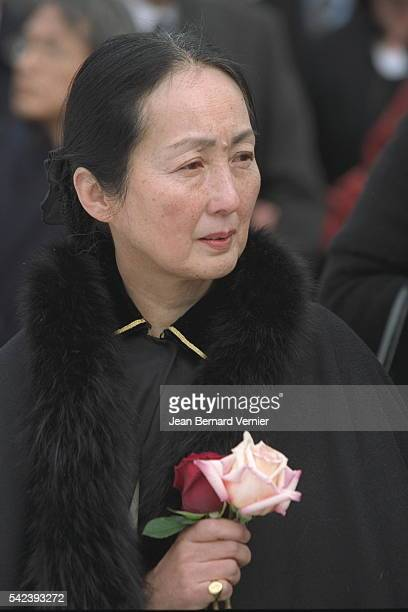 The artist's wife Setsuko Ideta