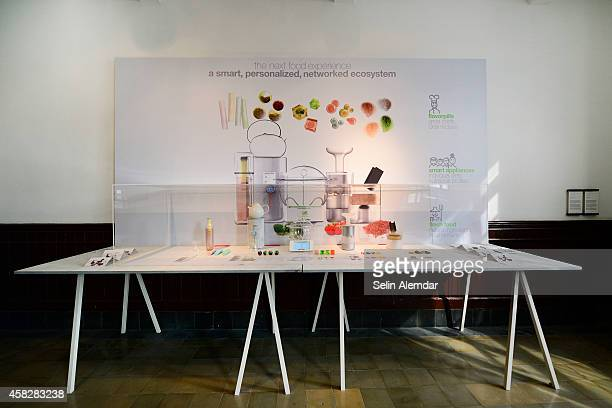 The artwork 'Just Add Water' by Koz Susani Design shown as part of 2nd Istanbul Design Biennial 'The Future Is Not What It Used To Be' at Galata...