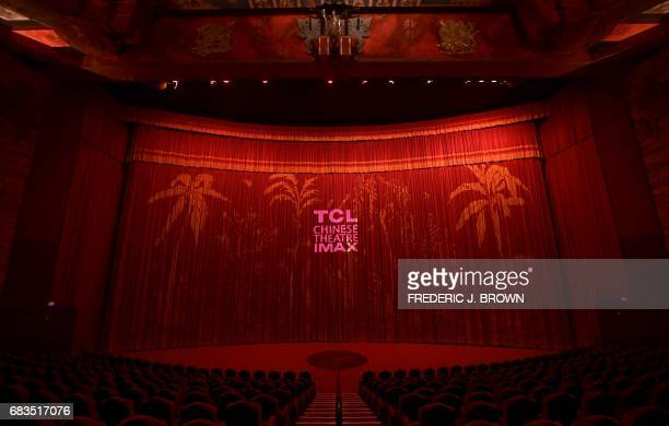 The artwork which began in 1928 by Chineseborn American actor Keye Luke remains decorating the ornate ceiling inside the TCL Chinese Theater in...