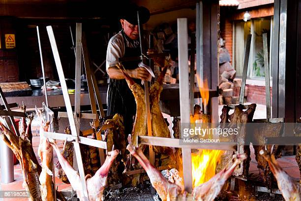 The Assado restaurant which is a traditional steak house in La Tranquera on February 15 2007 in Buenos Aires Argentina