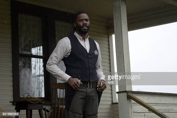 TIMELESS 'The Assassination of Jesse James' Episode 111 Pictured Coleman Domingo as Bass Reeves
