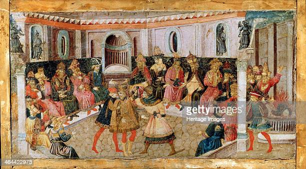 'The Assassination of Julius Caesar' 15th century Found in the collection of the State A Pushkin Museum of Fine Arts Moscow