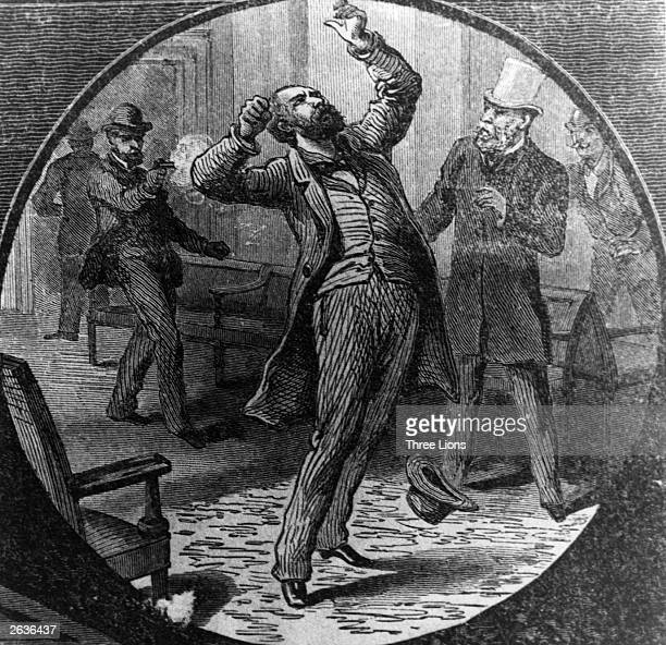 The assassination of President Garfield by Charles Guiteau