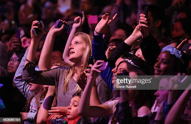 TORONTO JUNE 15 The assembled crowd keeps their eyes trained on stage during MMVA 2014 awards show featuring some of the countries best talent on...