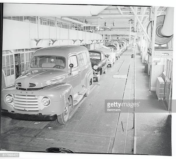 Ford river rouge stock photos and pictures getty images for Ford motor co parts dept