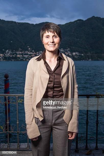 The astronaut Samantha Cristoforetti at the Forum Ambrosetti in Villa d'Este Cernobbio Italy 5th September 2015