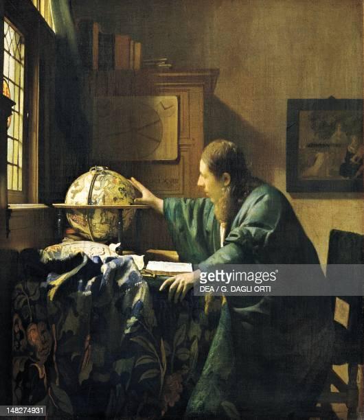 The Astronomer by Jan Vermeer oil on canvas 51x45 cm Paris Musée Du Louvre