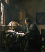The Astronomer by Vermeer Paris