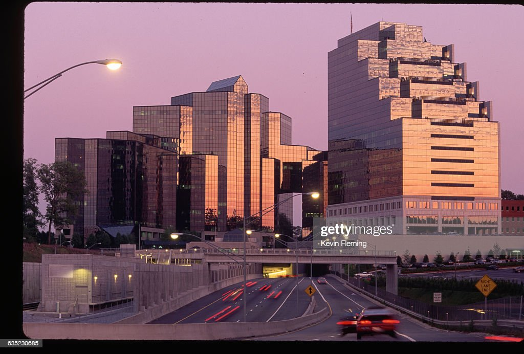 Atlanta Financial Center Pictures Getty Images - Atlanta location in usa