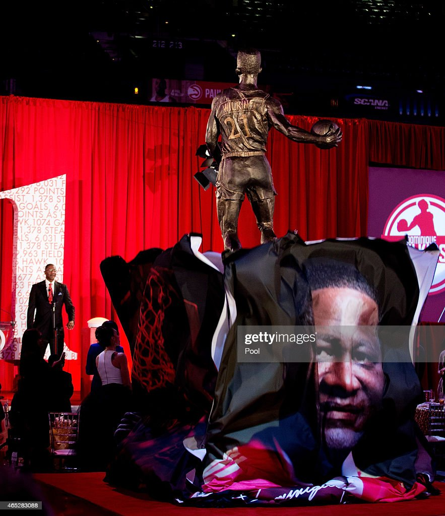 Atlanta Hawks Unveil Dominique Wilkins Statue s and