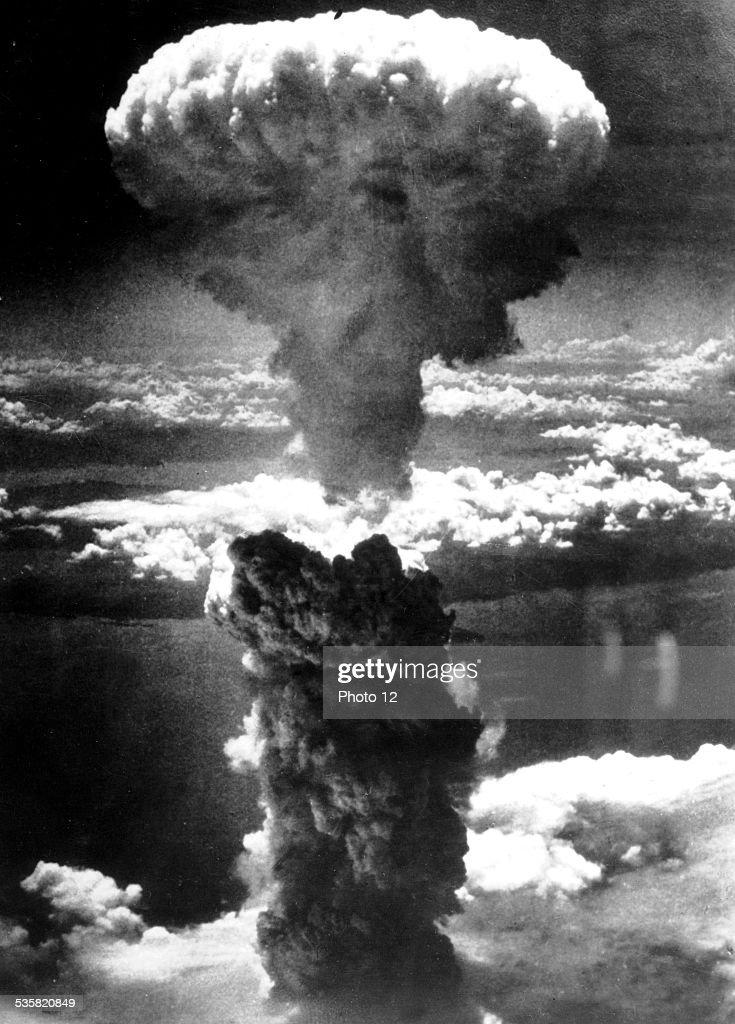 The atomic bomb on Nagasaki August 8 Japan World War II Washington National archives