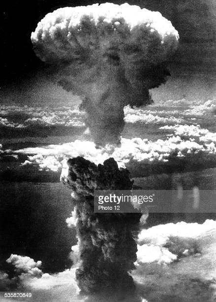 The atomic bomb on Nagasaki August 8 Japan World War II Washington National archives
