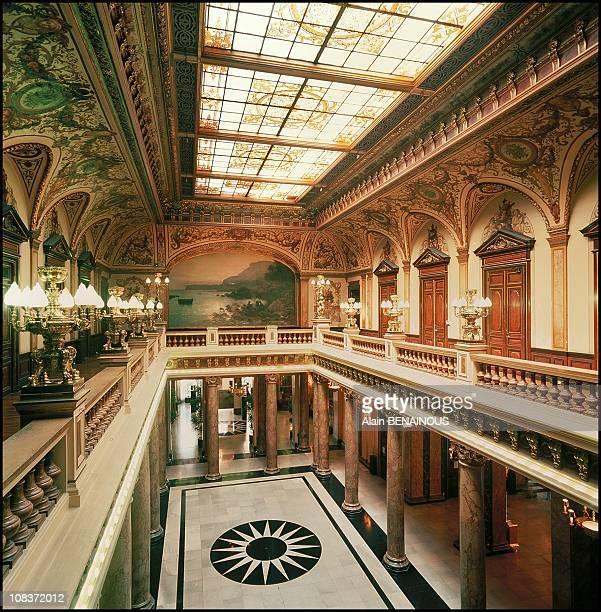The atrium in Monaco on October 01 2000