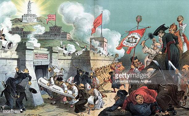 The attack on our outer ramparts first the house of refuge then the public schools then the Constitution' A hapless army of clergymen assaulting a...