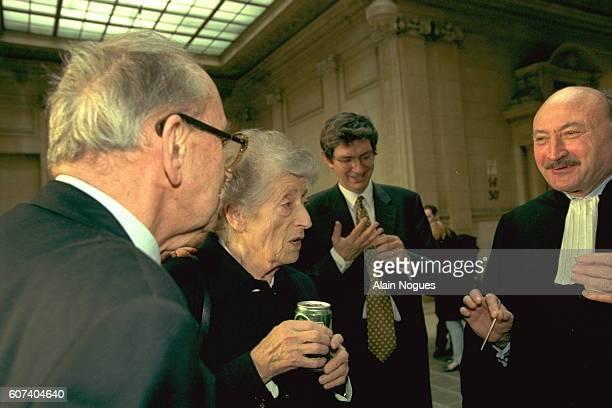 The Aubracs and their lawyer Georges Kiejmann