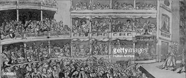 The auditorium of Covent Garden Theatre in London
