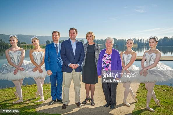 The Australian Ballets Artistic Director David McAllister New South Wales Minister for Trade Tourism and Major Events Stuart Ayres Australian Ballets...