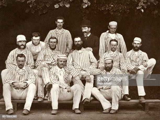 The Australian cricket team which toured England and North America making the inaugural firstclass tour of England by a representative overseas side...