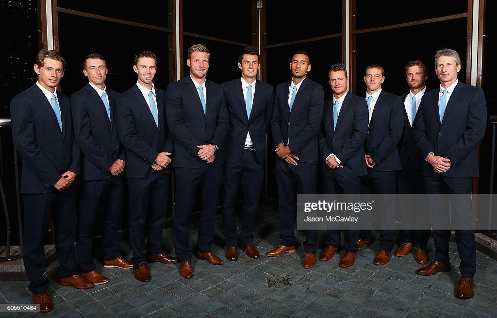 Davis Cup World Group Playoff - Australia v Slovakia: Official Dinner