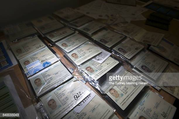 The Australian Federal Police together with state police have shined a light on a massive fraud racket producing false documents such as passports 11...