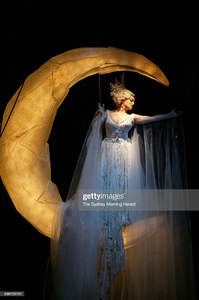 The Australian Opera and Legs on the Wall production of Mozart's 'The Magic Flute' Dress rehearsal at the Opera House Amelia Farrugia Queen of the...