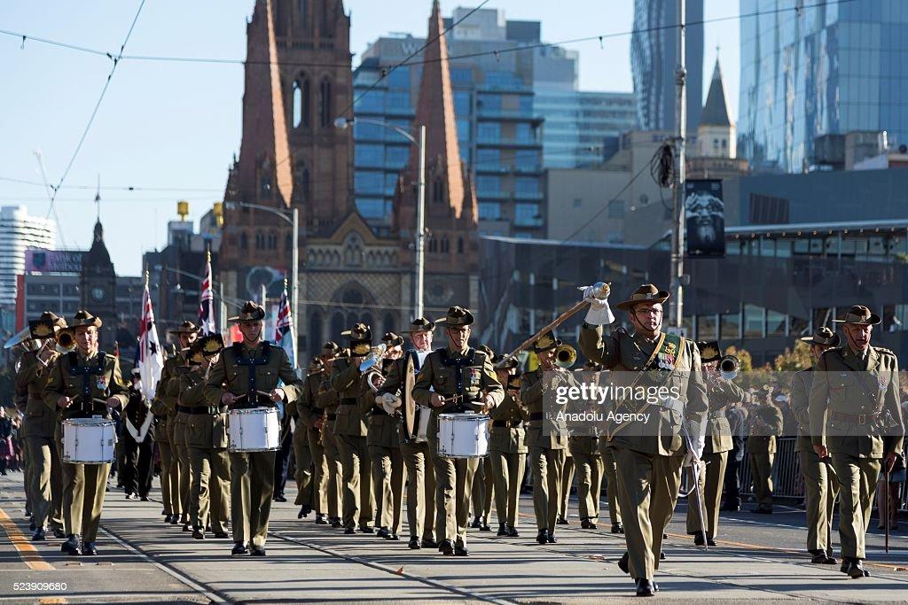 Dates of world war 1 in Melbourne