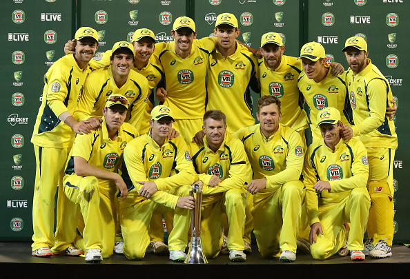 Australia v New Zealand - ODI Game 3 : News Photo