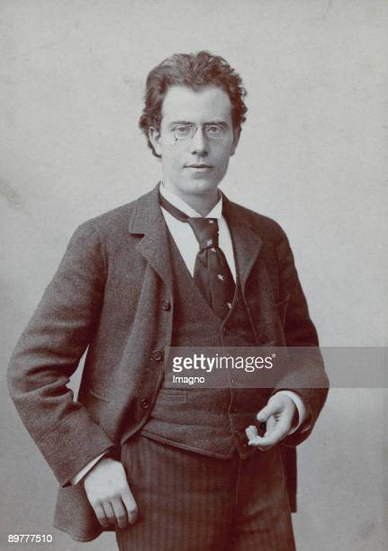 The Austrian composer Gustav Mahler Hamburg Photograph by Emil Bieber 1892