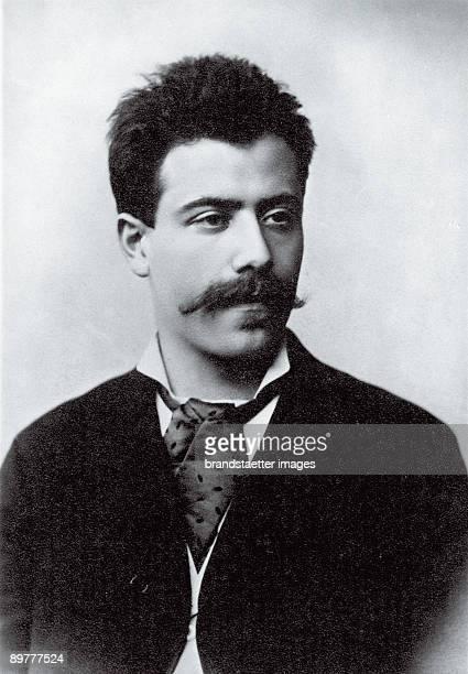 The Austrian composer Gustav Mahler Kassel Germany Photograph Around 1884