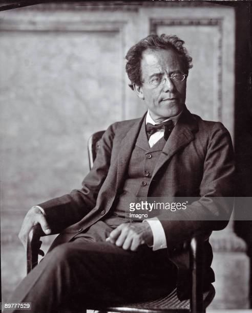 The Austrian composer Gustav Mahler Photograph by Moriz Nähr 1907