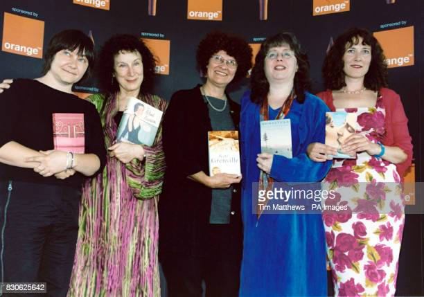 The authors shortlisted for the 2001 Orange Prize for Fiction LR Ali Smith Margaret Atwood Kate Grenville Rosina Lippi and Jill Dawson * at the...