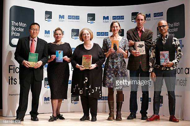 The authors shortlisted for the Man Booker 2012 literary prize Malaysian author Tan Twan Eng South Africanborn British author Deborah Levy British...