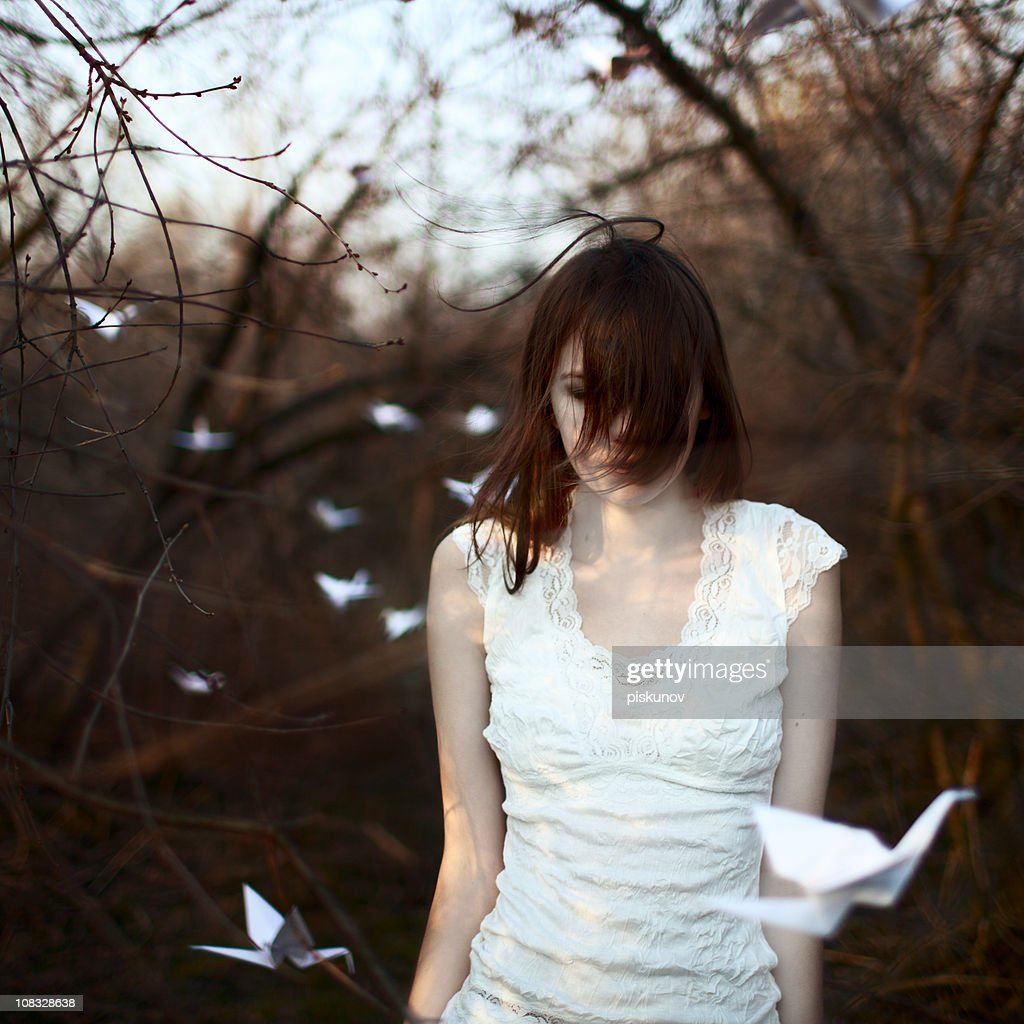 The Autumn tales : Stock Photo