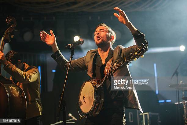 The Avett Brothers perform at Music Is Universal presented by Marriott Rewards and Universal Music Group during SXSW at the JW Marriott Austin on...