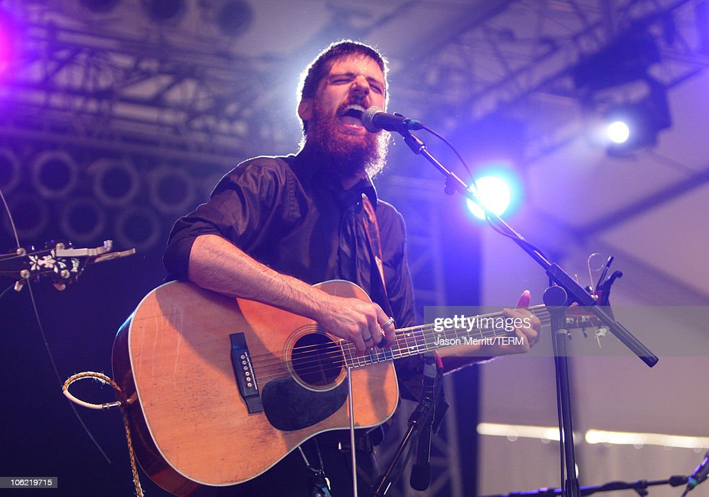 The Avett Brothers perform on stage during Bonnaroo 2008 on June 14, 2008 in Manchester, Tennessee.