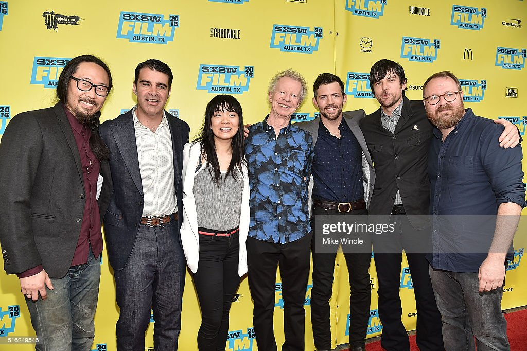 <a gi-track='captionPersonalityLinkClicked' href=/galleries/search?phrase=The+Avett+Brothers&family=editorial&specificpeople=4270503 ng-click='$event.stopPropagation()'>The Avett Brothers</a>, Thao Nguyen, Terry Lickona and director Keith Maitland attend the screening of 'A Song For You: The Austin City Limits Story' during the 2016 SXSW Music, Film + Interactive Festival at Paramount Theatre on March 17, 2016 in Austin, Texas.