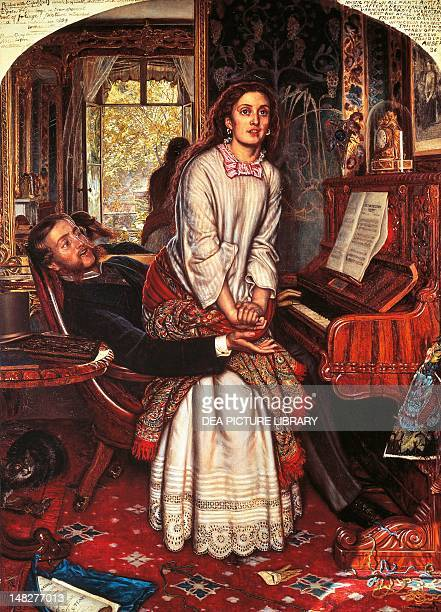 The Awakening Conscience by William Holman Hunt oil on canvas 749x55 8cm London Tate Gallery