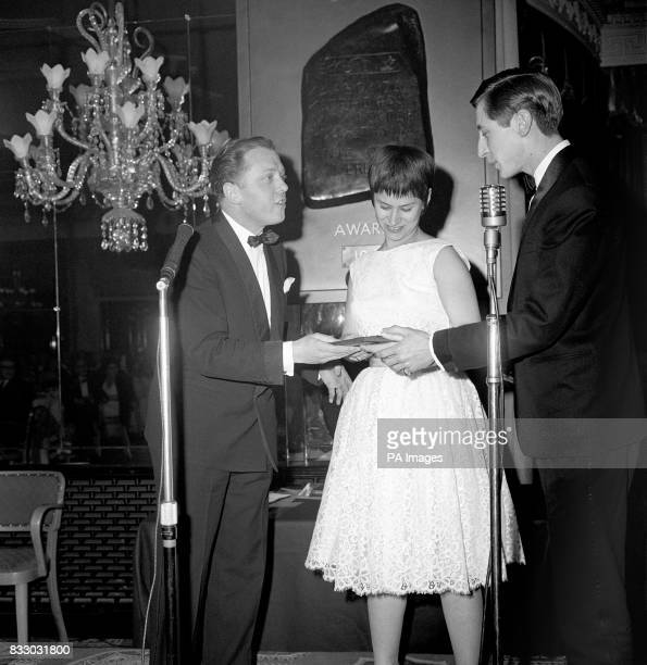 The award for the Best British Dramatic Screenplay in 1961 given to Shelagh Delaney and Tony Richardson for the film 'A Taste of Honey' is accepted...
