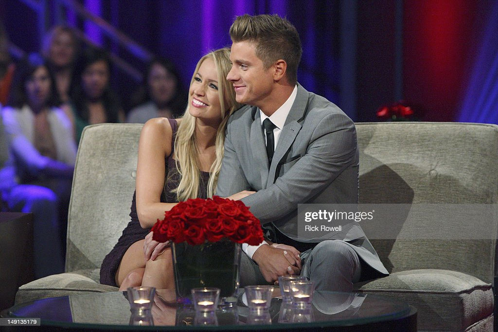 After the Final Rose' - Emotions ran high as Emily sat down with Chris Harrison, live, to talk about her final two bachelors. She took viewers back to those final days in exotic Curaçao when she was conflicted about being in love with two men. Emily discussed her relationships with Arie and Jef and the heart-wrenching decision that changed all of their lives forever. Both men returned to share the bombshell outcome of the series. It was the emotional ending to Emily's heartfelt journey to find true love, live, on 'The Bachelorette: After the Final Rose,' SUNDAY, JULY 22 (10:01-11:00 p.m., ET). HOLM