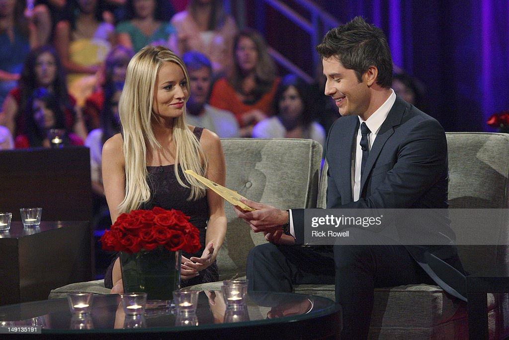 After the Final Rose' - Emotions ran high as Emily sat down with Chris Harrison, live, to talk about her final two bachelors. She took viewers back to those final days in exotic Curaçao when she was conflicted about being in love with two men. Emily discussed her relationships with Arie and Jef and the heart-wrenching decision that changed all of their lives forever. Both men returned to share the bombshell outcome of the series. It was the emotional ending to Emily's heartfelt journey to find true love, live, on 'The Bachelorette: After the Final Rose,' SUNDAY, JULY 22 (10:01-11:00 p.m., ET). LUYENDYK