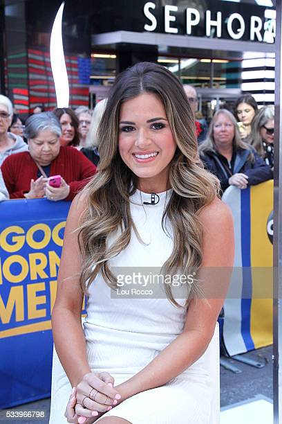 AMERICA The Bachelorette Jojo Fletcher is a guest on 'Good Morning America' 5/23/16 airing on the ABC Television Network JOJO