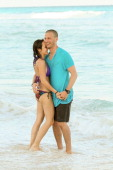 The Bachelorette's Ashley Hebert and JP Rosenbaum celebrate their oneyear anniversary at ME Cancun and kickoff DJ Lab Sessions at ME Cancun Resort on...