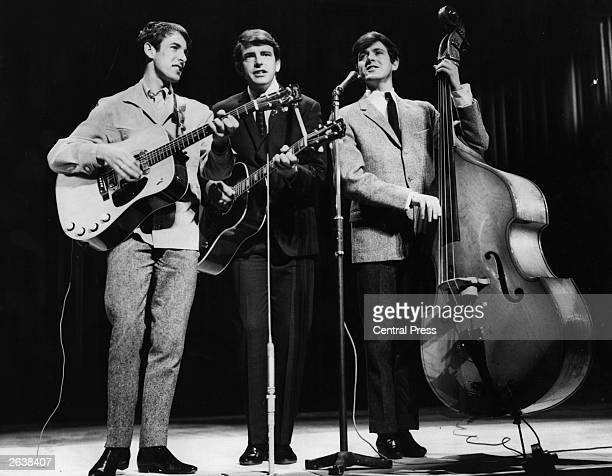 The Bachelors rehearsing for the 1964 Royal Variety Performance at the London Palladium Original Publication People Disc HA0263