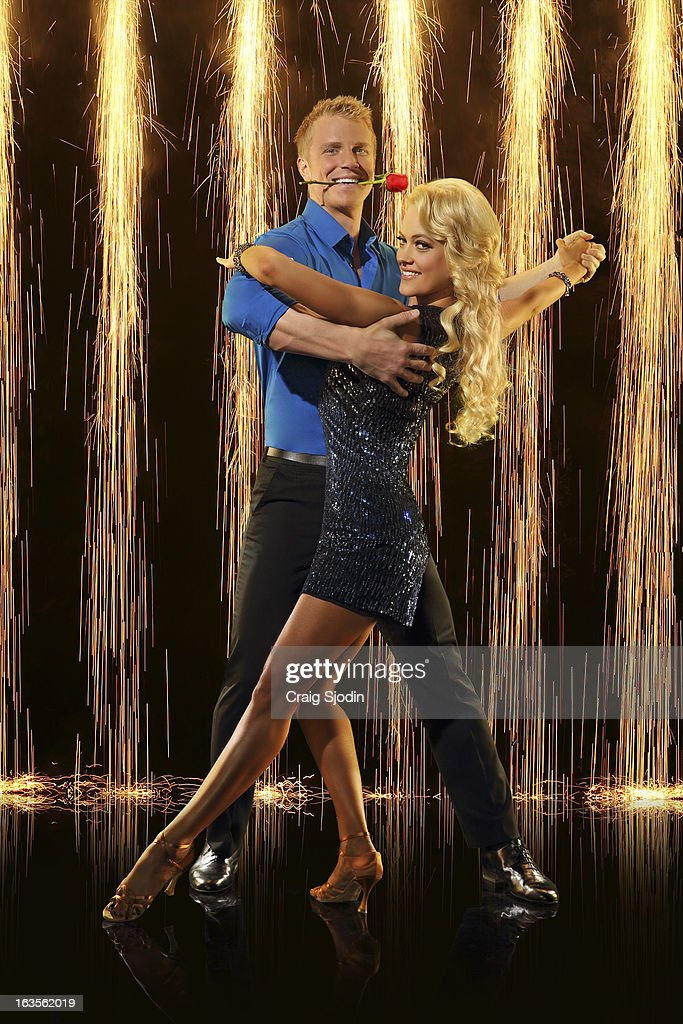 MURGATROYD - The Bachelor's Sean Lowe partners with Peta Murgatroyd. The two-hour season premiere of 'Dancing with the Stars' airs MONDAY, MARCH 18 (8:00-10:01 p.m., ET) on the ABC Television Network. Photos by Craig Sjodin / ABC Via Getty Images
