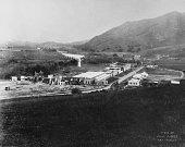 The backlot at Universal Studios California 1915