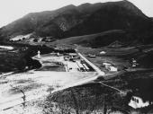 The backlot at Universal Studios California circa 1915