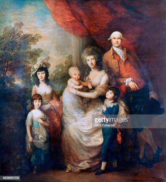 'The Baillie Family' c1784 Portrait of the London merchant James Baillie with his wife and their four children From the collection of the Tate...