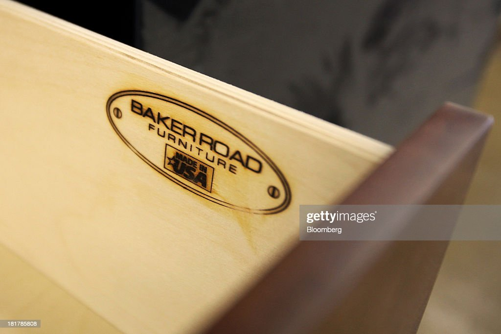 Captivating The Baker Road Furniture Logo Is Seen Burned Onto The Inside Of A Drawer Of  A
