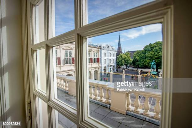 The Balcony room in Palace Noordeinde on July 22 2017 in The Hague Netherlands Palace Noordeinde is the office of King WillemAlexander and Queen...