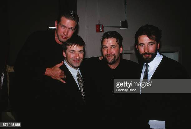 LOS ANGELES The Baldwin Brothers December 16 The four Baldwin Brothers backstage at the Century Plaza Hotel Stephen Baldwin Alec Baldwin Daniel...